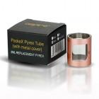 tub pyrex Aspire PockeX 2ml + camasa metalica