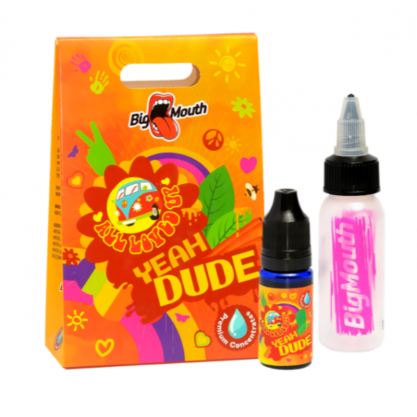 Din categoria Big Mouth - Aroma All Loved Up YEAH DUDE Big Mouth - 10 ml