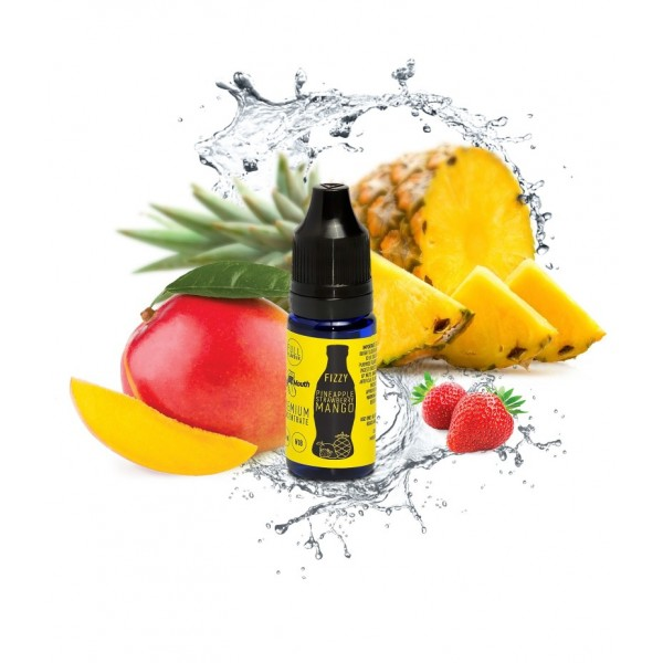 Aroma Fizzy Pineapple Strawberry Mango Big Mouth - 10ml