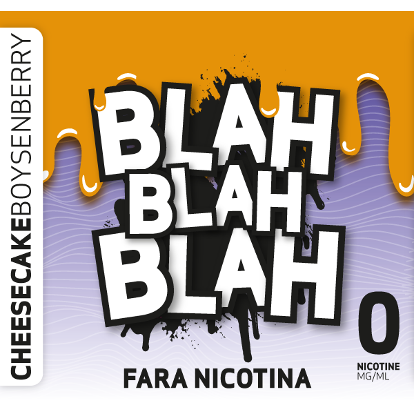 Cheesecake + Boysenberry - Lichid Blah - 100 ml fara nicotina 70 VG 30 PG