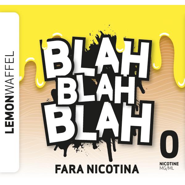 Lemon Waffel - Lichid Blah - 100 ml fara nicotina 70 VG 30 PG