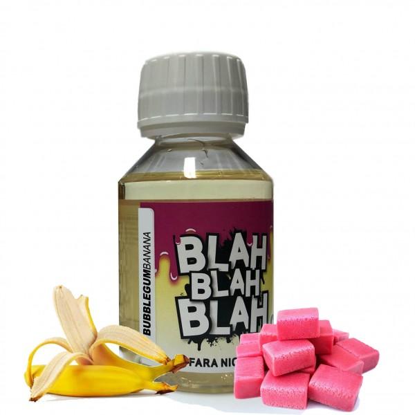 Bubblegum Banana - Lichid Blah - 100 ml fara nicotina 70 VG 30 PG