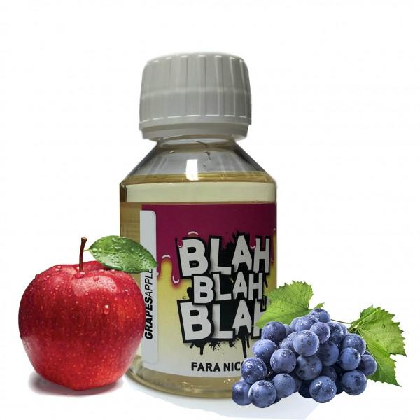 Din categoria Blah Blah Blah 100 ml fara nicotina - Grapes Apple - Lichid Blah - 100 ml fara nicotina 60 VG 40 PG