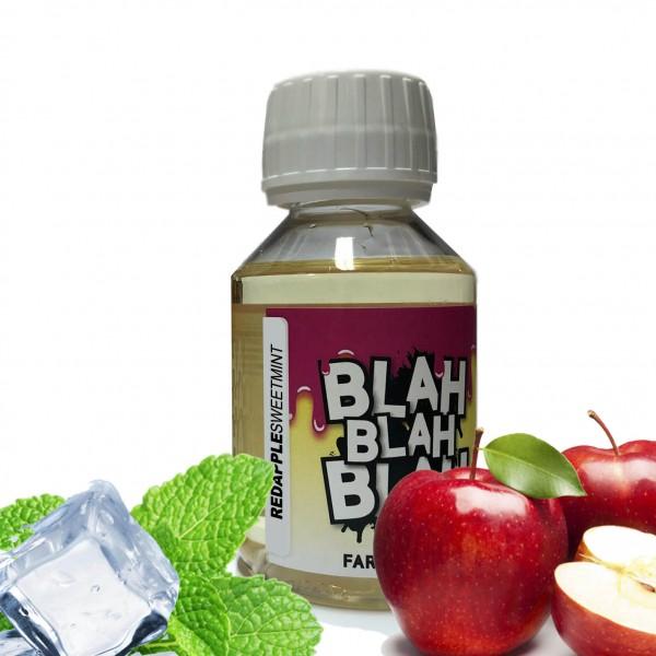 Din categoria Blah Blah Blah 100 ml fara nicotina - Red Apple Sweet Mint - Lichid Blah - 100 ml fara nicotina 70 VG 30 PG