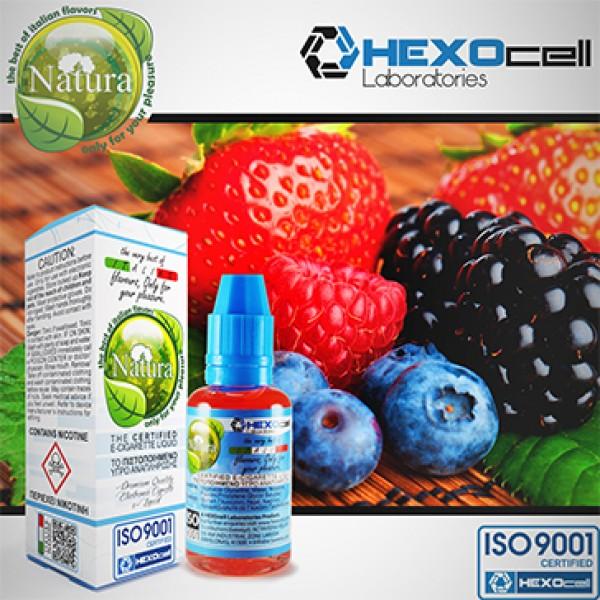 Din categoria Hexocell 30 ml - Forest Fruit Mix Natura - Hexocell 0mg /ml 30 ml