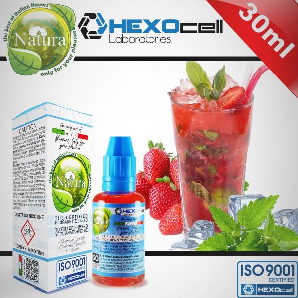Strawberry - Natura - Hexocell 0 mg /ml 30 ml