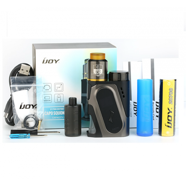 Din categoria moduri electronice - Kit IJoy CAPO 100W + combo RDA