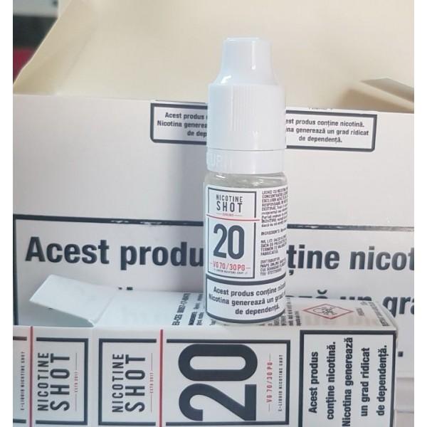 10+1 nicshot 20 mg/ ml pachet 11 bucati 70VG-30PG
