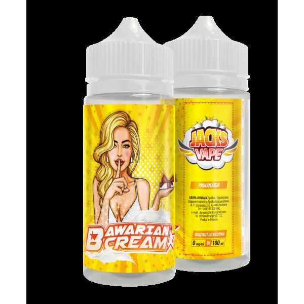 Jacks Vape Bavarian Cream 100ml - fara nicotina