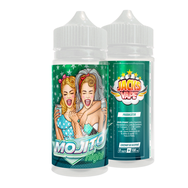 Jacks Vape Mojito100ml - fara nicotina