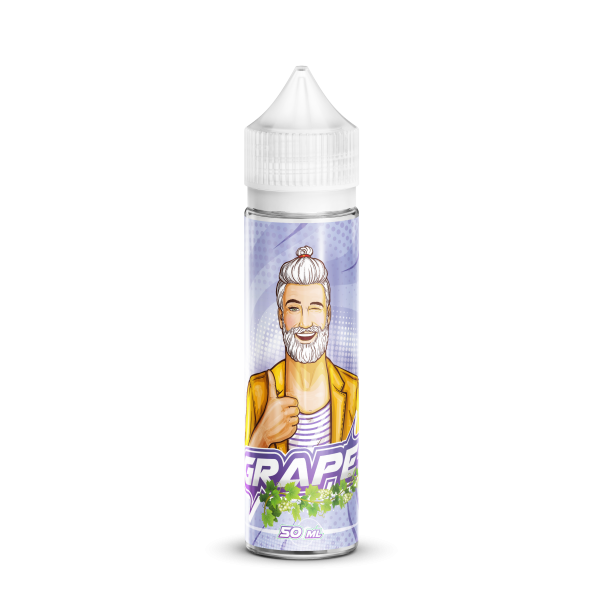 Din categoria Jack Vape Shortfills - 50 ml Grape Jack Vape fara nicotina