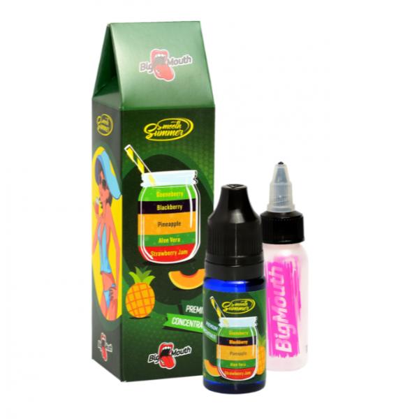 Din categoria Big Mouth - Strawberry Jam - Aloe Vera - Pineapple - Blackberry - Gooseberry (SAPBG) - Big Mouth 10 ml