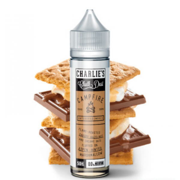 Din categoria CHARLIES CHALK DUST SUA - Campfire Outdoors and Smores 00MG 50ML