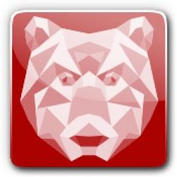 shortfill Crystal Bear made in UK
