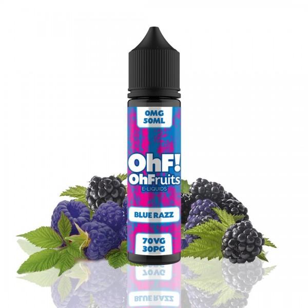 OhFruits E-Lichid aroma Mure 50ml fara nicotina blue razz