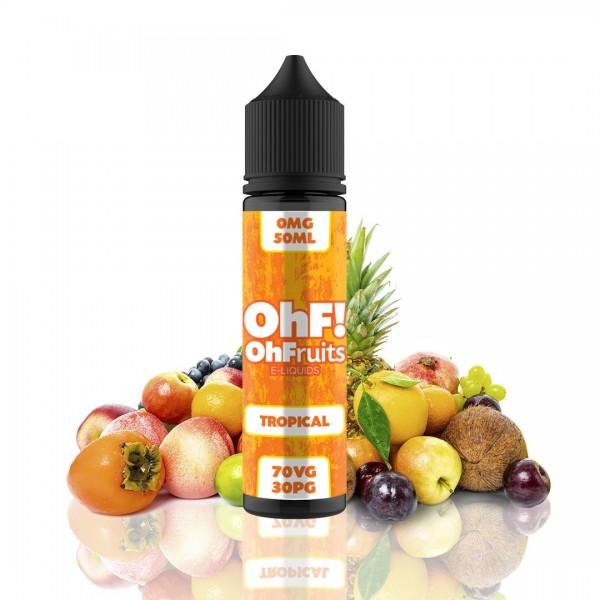 OhFruits E-Lichid FructeTropicale 50ml fara nicotina