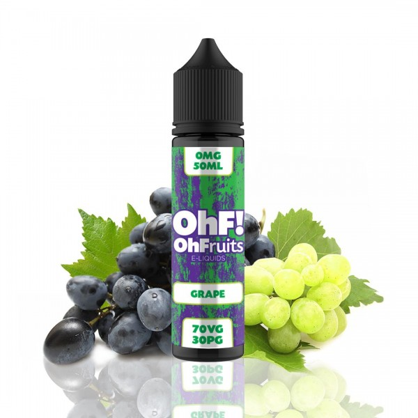 OhFruits E-Lichid Grape 50ml fara nicotina