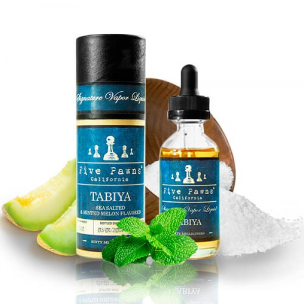Din categoria - Five Pawns Tabiya 50ML fara nicotina