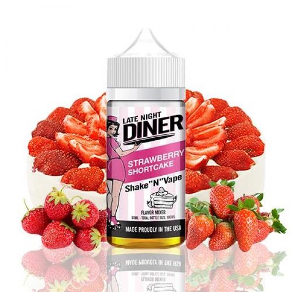 Late Night Diner Strawberry Shortcake fara nicotina