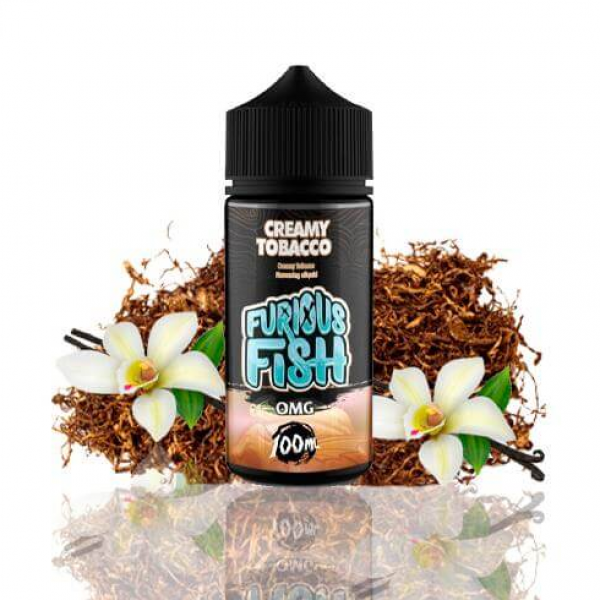 lichid Furious Fish Creamy Tobacco 100ML fara nicotina