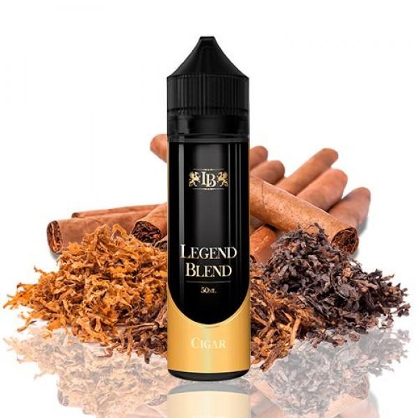 Din categoria Legend Blend - Legend Blend Cigar 50ml fara nicotina