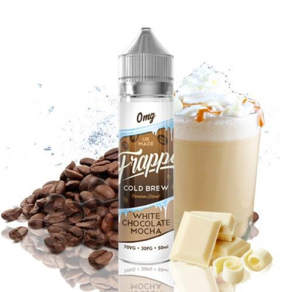 Din categoria promotii de sezon - Frappe Cold Brew White Chocolate Mocha 50ml (Shortfill)