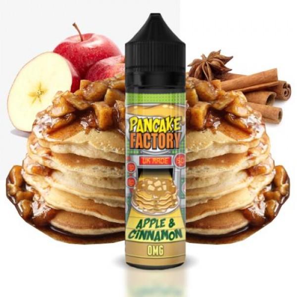 Pancake Factory Apple and Cinnamon 50ml 0mg