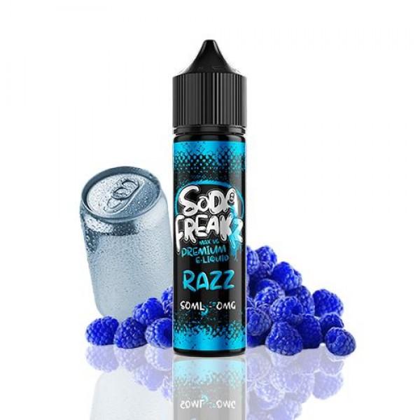 Soda Freakz Razz 50ml (Shortfill) fara nicotina