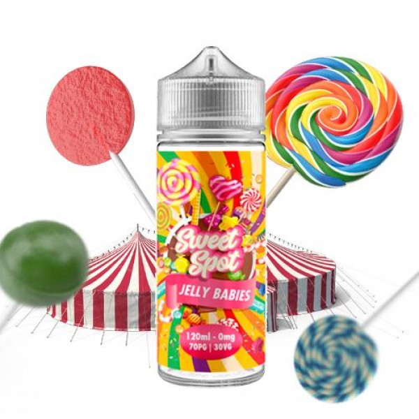 Sweet Spot Jelly Babies 100ml fara nicotina