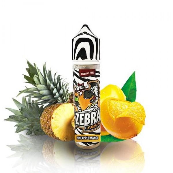 Din categoria Zebra Juice - Zebra Juice Fruitz Pineapple Mango 50ml 0mg