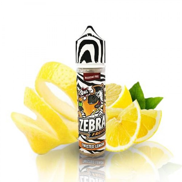 Din categoria Zebra Juice - Zebra Juice Fruitz Twisted Lemon 50ml 0mg
