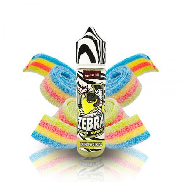 Din categoria Zebra Juice - Zebra Juice Sweetz Rainbow Strips 50ml 0mg