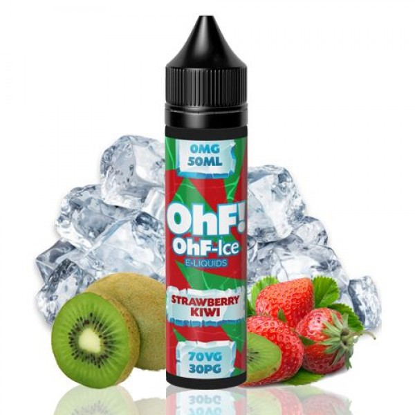 OHF Ice Strawberry Kiwi 50ml fara nicotina