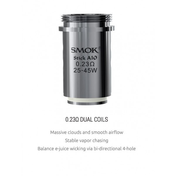 Din categoria rezistente de rezerva - rezerva SMOK Stick AIO 0.23 ohmi