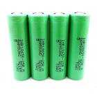 4 bucati Samsung INR 18650-25R 2500mAh High-drain Battery - 12C, 30A