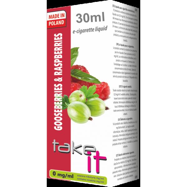 Gooseberry & Raspberry Take It 0 mg/ml 30 ml