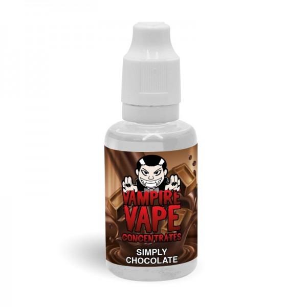 30 ml Aroma Simply Chocolate Vampire Vape