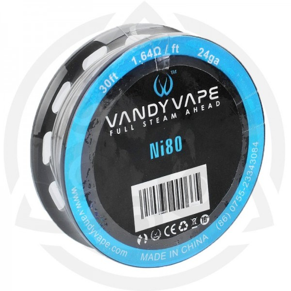 Din categoria modare - Vandyvape rola Ni80 24ga (VW.0028) -10 m
