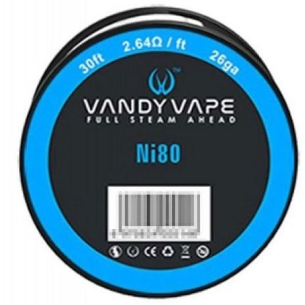 Din categoria modare - Vandyvape rola Ni80 26ga -10 m