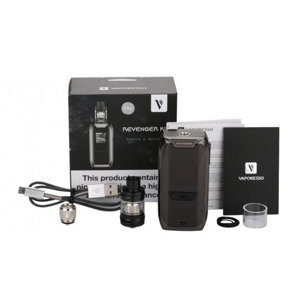 Din categoria moduri electronice - 220W Vaporesso Revenger TC Kit with NRG