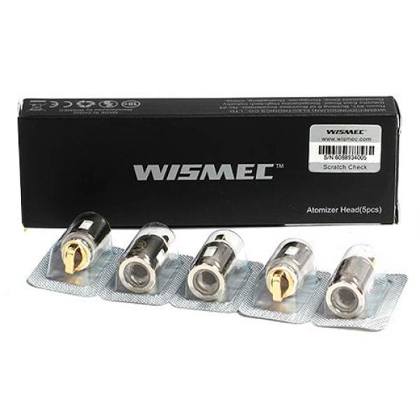 Din categoria rezistente de rezerva - rezerve WISMEC WS04 MTL1.3OHM pentru Elabo